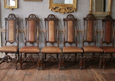 Item no 8, I6 baroque chairs