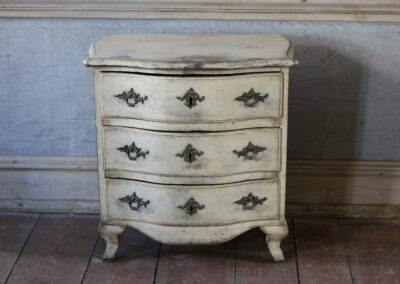 Item no 15, small Rococo chest of drawers