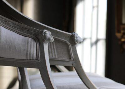 Item no7, Gustavian armchairs