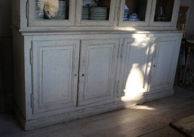 Item no6, Table, Vitrine cupboard